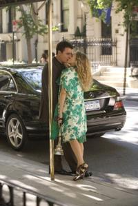 Chris Noth as Mr. Big and Sarah Jessica Parker as Carrie Bradshaw in