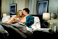 Sarah Jessica Parker as Carrie Bradshaw and Chris Noth as Mr. Big in