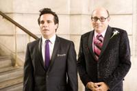 Mario Cantone as Anthony Marantino and Willie Garson as Stanford Blatch in