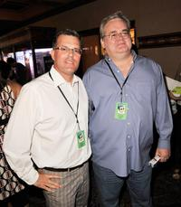 Chad Oman and Mike Stenson at the California premiere of