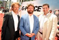 Jerry Bruckheimer, Zach Galifianakis and Oren Aviv at the California premiere of