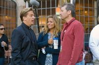 Writer Greg Behrendt, Producer Nancy Juvonen and Director Ken Kwapis on the set of