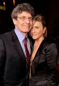 Alan Horn and Jennifer Aniston at the California premiere of