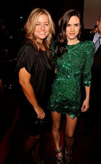 Nancy Juvonen and Jennifer Connelly at the California premiere of