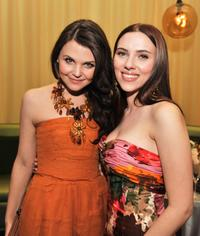 Ginnifer Goodwin and Scarlett Johansson at the after party of the California premiere of