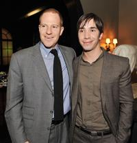Producer Toby Emmerich and Justin Long at the after party of the California premiere of