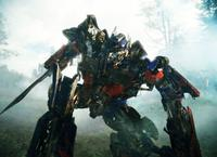 The Autobot Optimus Prime in
