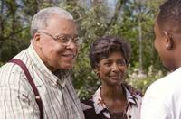 James Earl Jones, Margaret Avery and Martin Lawrence as RJ in