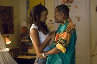 Martin Lawrence as RJ and Joy Bryant as Bianca in