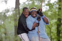 Martin Lawrence as RJ and Cedric The Entertainer as Clyde in