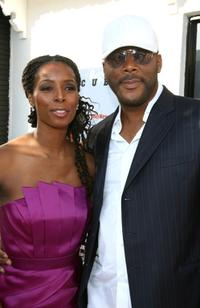 Tasha Smith and Director Tyler Perry at the California premiere of