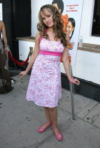 Debby Ryan at the California premiere of