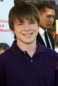 Miles Chandler at the California premiere of