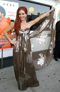 Phoebe Price at the California premiere of