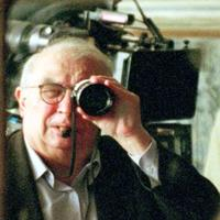 Director Claude Chabrol on the set of