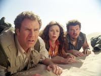 Will Ferrell as Dr. Rick Marshall, Anna Friel as Holly and Danny Mcbride as Will in