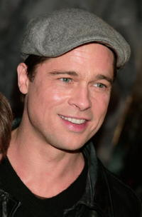 Actor Brad Pitt at the L.A. premiere of