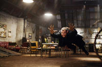 Liev Schreiber is Victor Creed, aka Sabretooth, a feral being of unimaginable power in