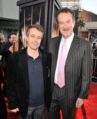 Harry Gregson-Williams and producer Ralph Winter at the California premiere of