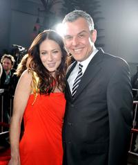 Lynn Collins and Danny Huston at the California premiere of