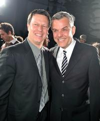 Director Gavin Hood and Danny Huston at the California premiere of