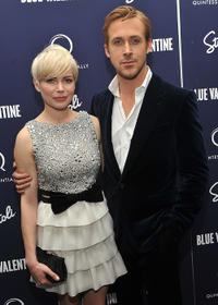 Michelle Williams and Ryan Gosling at the New York premiere of