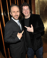 Director Derek Cianfrance and Jeffrey Ross at the after party of the New York premiere of