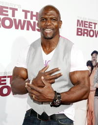 Actor Terry Crews at the L.A. premiere of
