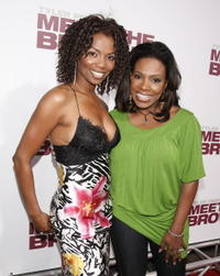 Actresses Vanessa Williams and Sheryl Lee Ralph at the L.A. premiere of