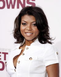 Actress Taraji Henson at the L.A. premiere of