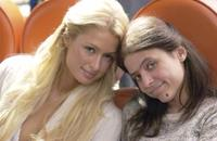 Paris Hilton and Christine Lakin in