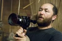 Director Timur Bekmambetov on the set of