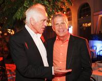 Terence Stamp and Producer Marc Plat at the after party of the California premiere of