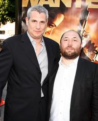 Producer Jim Lemley and Director Timur Bekmambetov at the California premiere of