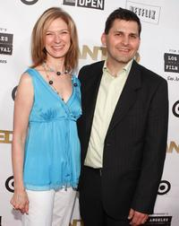 Executive Director Dawn Hudson and Director Rich Raddon at the California premiere of