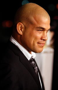 Ultimate Fighter Tito Ortiz at the Hollywood premiere of
