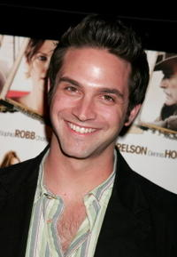 Actor Brandon Barash at the Hollywood premiere of