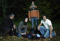 Scott Wentworth, Michelle Morgan, Joe Dinicol, Chris Violette and Shawn Roberts in George A. Romero's
