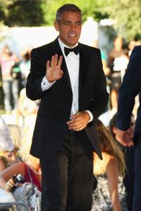 George Clooney at the opening ceremony and premiere of
