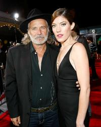 Rade Serbedzija and Jennifer Carpenter at the California premiere of