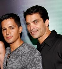 Jay Hernandez and Johnathon Schaech at the California premiere of