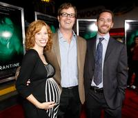 Stacy Dowdle, Director John Dowdle and Producer Drew Dowdle at the California premiere of