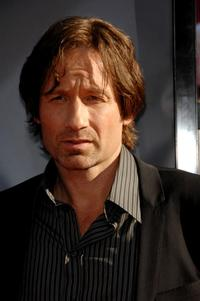 David Duchovny at the world premiere of