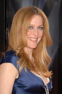 Gillian Anderson at the world premiere of