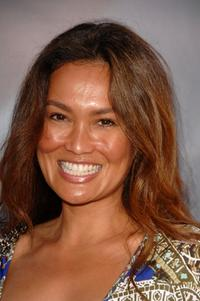 Tia Carrere at the world premiere of