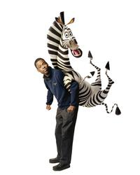 Chris Rock voices Marty the zebra in