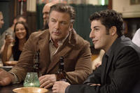 Alec Baldwin as Professor Thompson and Jason Biggs as Dustin in