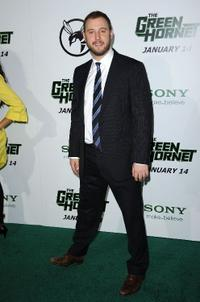 Executive producer Evan Goldberg at the California premiere of