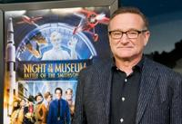 Robin Williams at the Washington premiere of