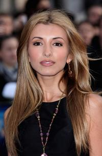 India De Beaufort at the London premiere of